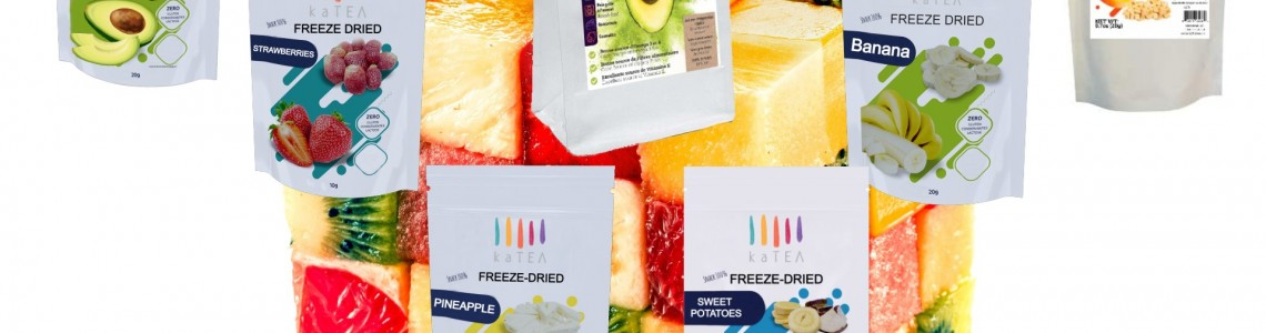 Freeze-dried chips