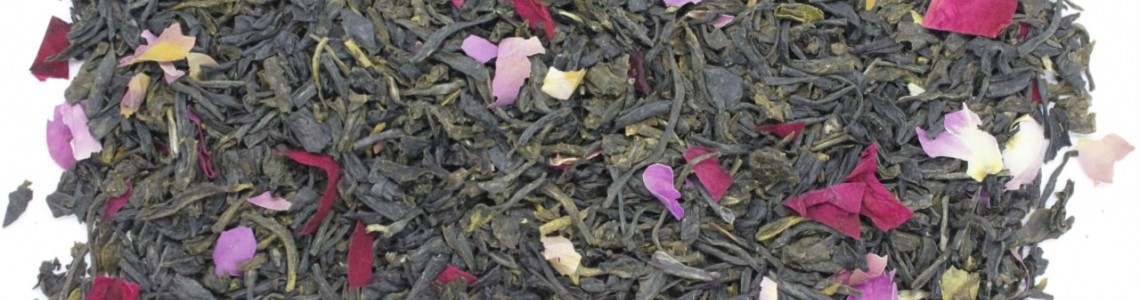 Purple tea blends