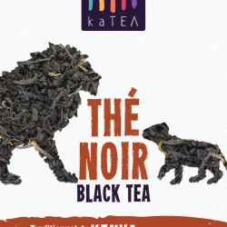 Black Orthodox Pekoe Tea from Kenya | original malty taste, with a sweet and calming flavor | loose leaf pure premium black tea