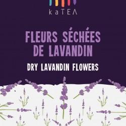 Dry lavandin flowers (75g)