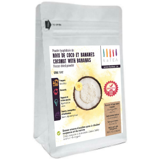 Organic Freeze Dried Coconut with banana (100g)