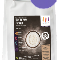 Organic Freeze Dried Coconut (4 x 100g)
