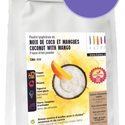 Freeze Dried Coconut with mango (4x100g)